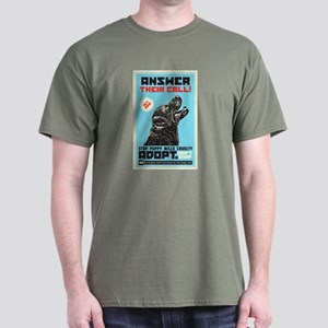 Stop Puppy Mills Cruelty Dark T-Shirt