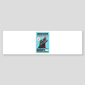 Stop Puppy Mills Cruelty Sticker (Bumper)