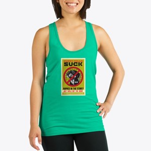 Puppy Mills Suck Racerback Tank Top
