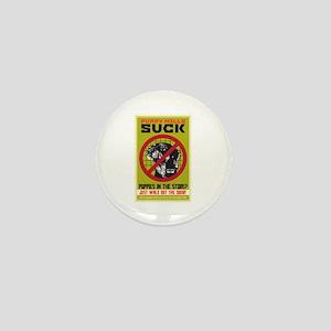 Puppy Mills Suck Mini Button