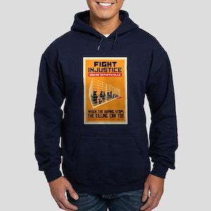 Fight Injustice Hoodie (dark)