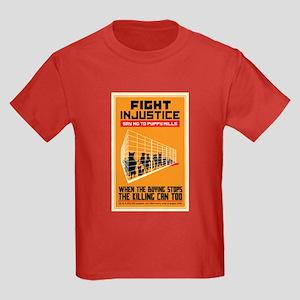 Fight Injustice Kids Dark T-Shirt