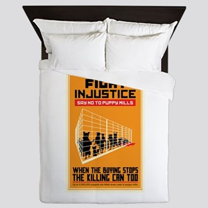 Fight Injustice Queen Duvet