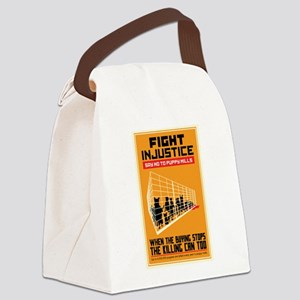 Fight Injustice Canvas Lunch Bag