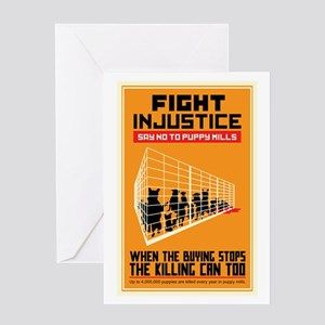 Fight Injustice Greeting Card