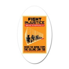 Fight Injustice Wall Decal
