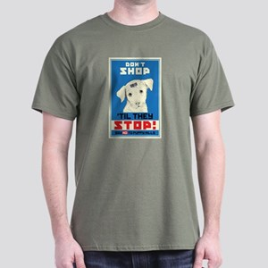 Say No To Puppy Mills Dark T-Shirt