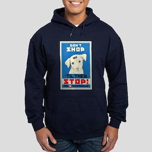 Say No To Puppy Mills Hoodie (dark)