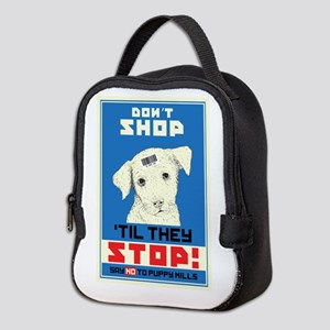 Say No To Puppy Mills Neoprene Lunch Bag