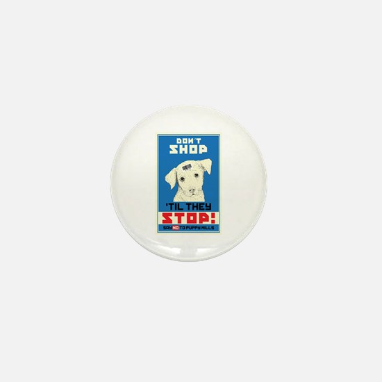 Say No To Puppy Mills Mini Button