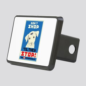 Say No To Puppy Mills Rectangular Hitch Cover