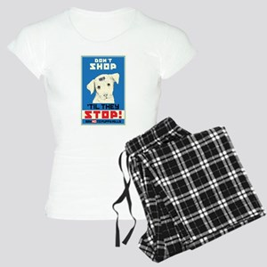 Say No To Puppy Mills Women's Light Pajamas