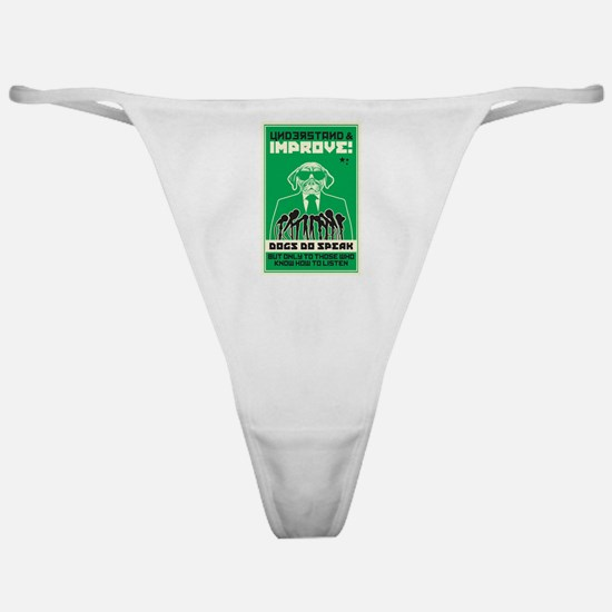 Understand Your Dog Classic Thong