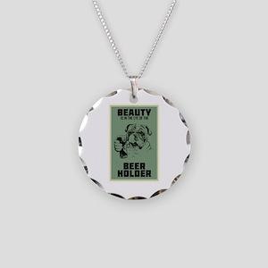 Beerholder Necklace Circle Charm