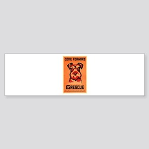 Come Rescue Sticker (Bumper)