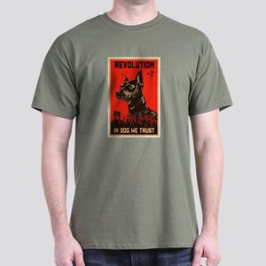 Dog Revolution Dark T-Shirt