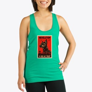 Dog Revolution Racerback Tank Top
