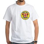 USS JOHN KING White T-Shirt