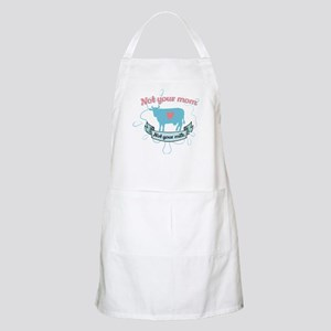 not your mom Light Apron