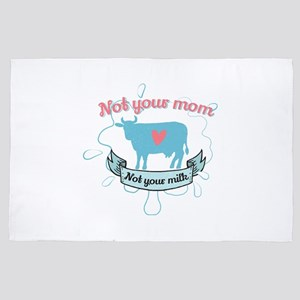 not your mom 4' x 6' Rug