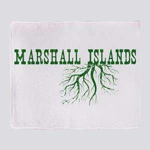 Marshall Islands Throw Blanket