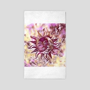 Passion Sun Moon Area Rug