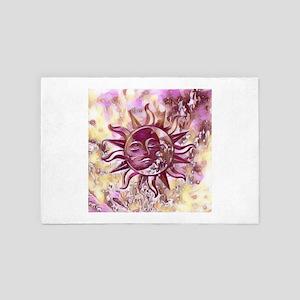 Passion Sun Moon 4' x 6' Rug