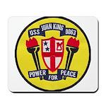 USS JOHN KING Mousepad
