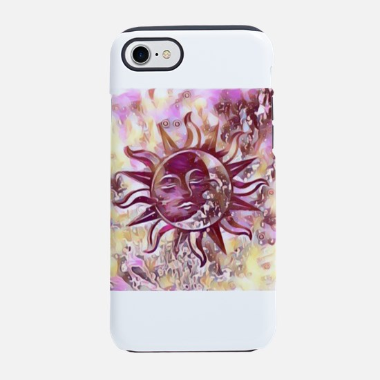 Passion Sun Moon iPhone 7 Tough Case