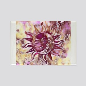 Passion Sun Moon Magnets