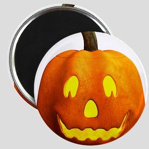 Halloween Pumpkin Face - Happy Magnets