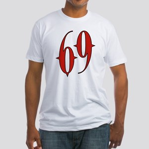 Succubus 69 Fitted T-Shirt