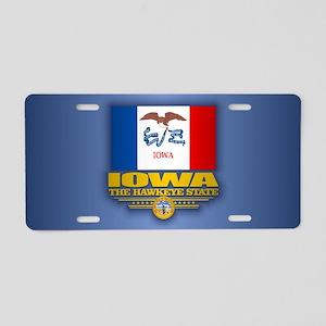 Iowa (v15) Aluminum License Plate