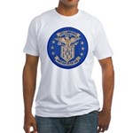 USS LAWRENCE Fitted T-Shirt