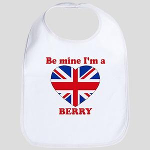 Berry, Valentine's Day Bib