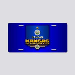 Kansas (v15) Aluminum License Plate