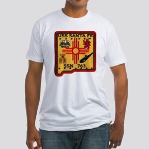 USS SANTA FE Fitted T-Shirt