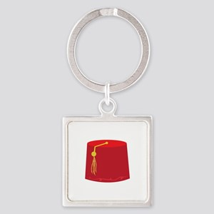 Red Tarboosh Keychains
