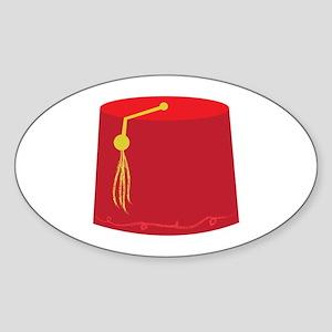 Red Tarboosh Sticker