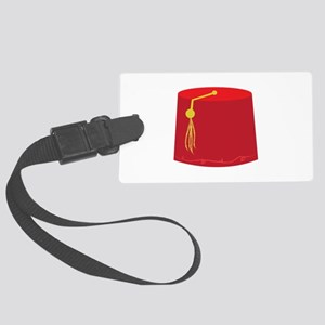 Red Tarboosh Luggage Tag
