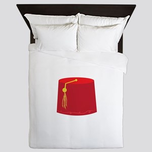 Red Tarboosh Queen Duvet