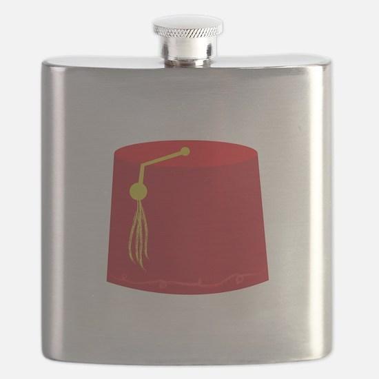 Red Tarboosh Flask