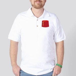 Red Tarboosh Golf Shirt