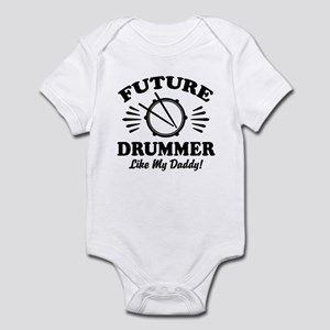 Future drummer Like My Daddy Baby Light Bodysuit