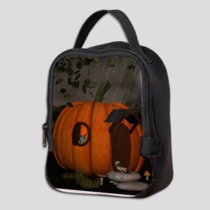 Halloween Neoprene Lunch Bag