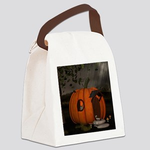 Halloween Canvas Lunch Bag