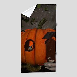 Halloween Beach Towel