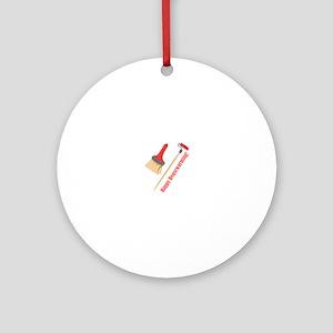 Happy Housewarming! Ornament (Round)