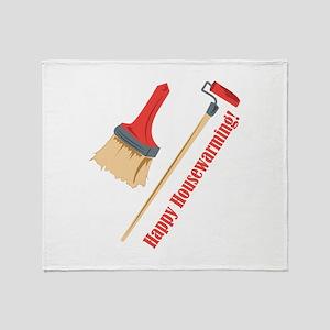 Happy Housewarming! Throw Blanket