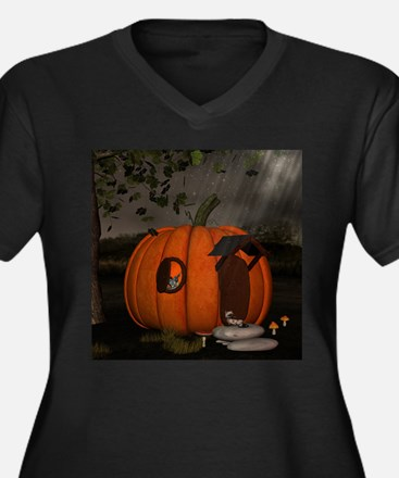 Halloween Plus Size T-Shirt